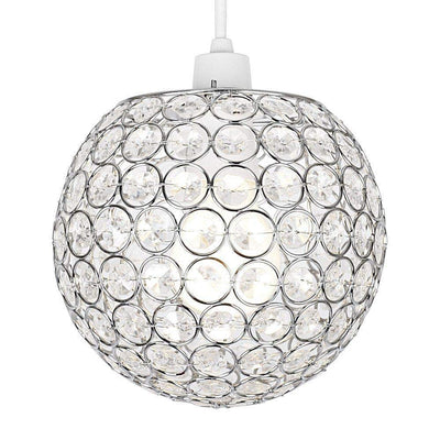 Ball Pendant Acrylic Chandelier - Klass Home