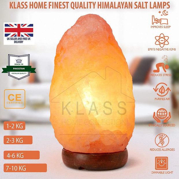 3-5 Kg Natural Himalayan Salt Lamp
