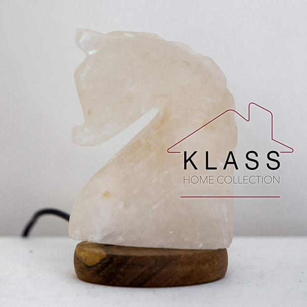 Knight / Horse shaped Colour Changing LED Salt Lamp - Klass Home