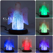 Guardian Angel shaped Colour Changing LED Salt Lamp - Klass Home