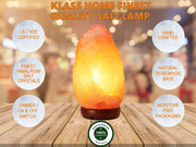 Medium Natural Salt Rock Lamp 2-3kg - Klass Home