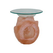 Tulip Shaped Himalayan Salt Oil Burner - Klass Home