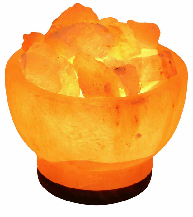 Fire Bowl Salt Lamps - Klass Home
