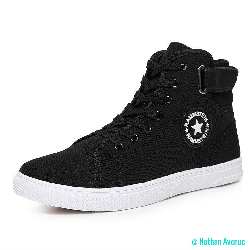 New 2017 High Quality Men Canvas Shoes