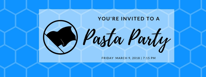 SD Half Pre Race Pasta Party - Friday 3/9/2018 @ 7:15 pm