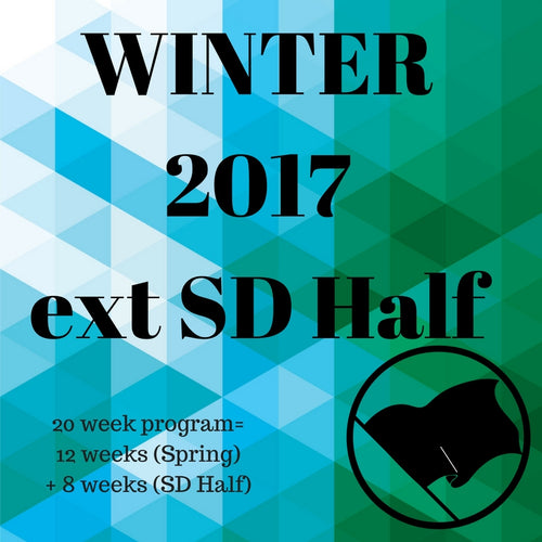 Winter Season 2017 w/ SD Half (20 Weeks)