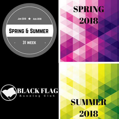 Combination Season; Spring 2018 & Summer 2018 (31 Weeks)