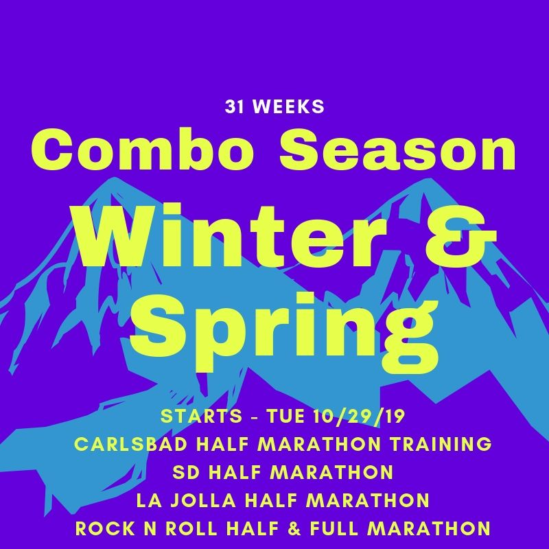 Combination Season; Winter 2019 & Spring 2020 (31 Weeks)