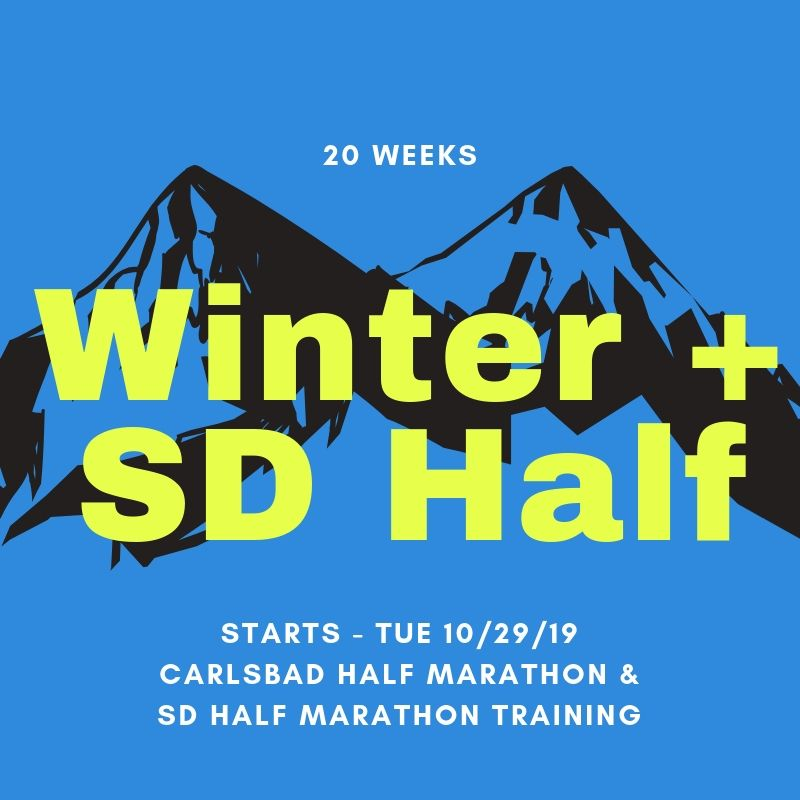 Winter Season 2019 w/ SD Half (19 Weeks)
