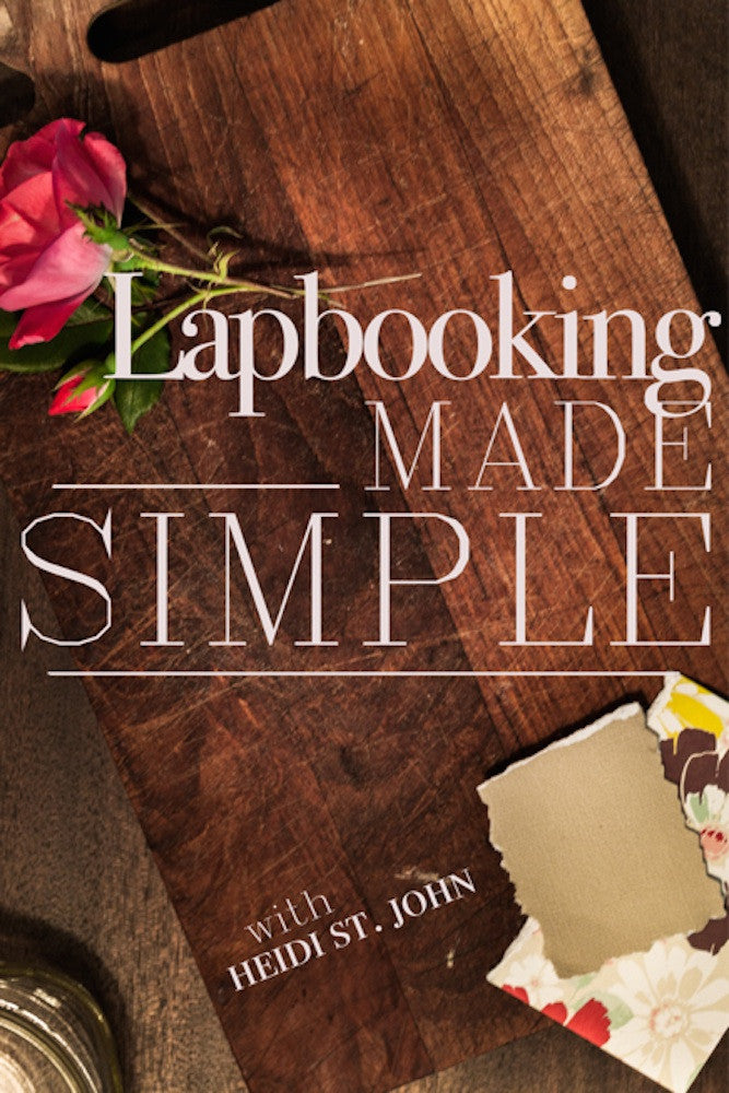Lapbooking Made Simple - eBook