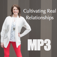 Cultivating Real Relationships - Workshop Recording