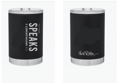 Faith that Speaks Travel Tumbler