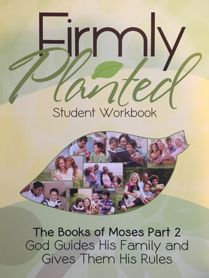 The Books of Moses Part 2 Workbook