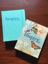 Inspire Bible Silky Leatherlike Vintage Blue/Cream