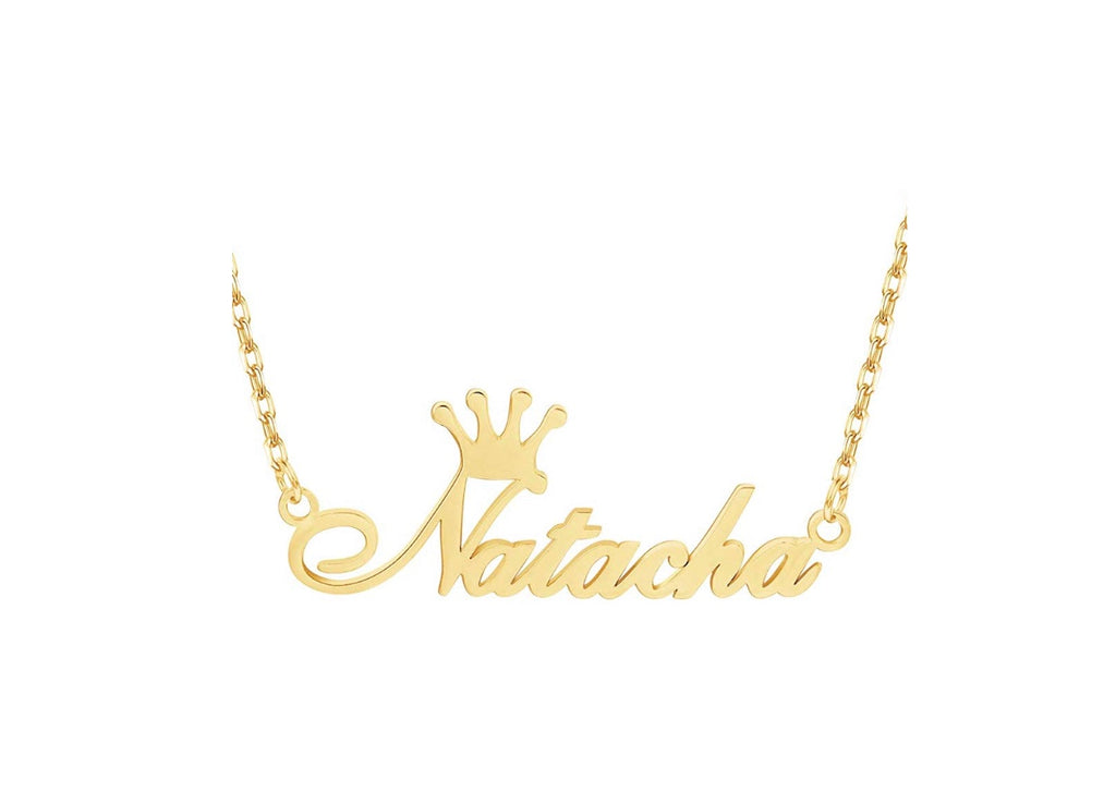 """Queening"" Custom Name Necklace"