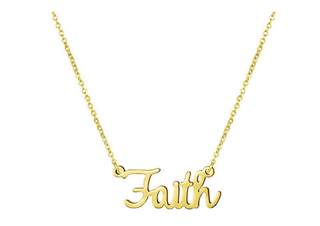 """Faith"" Necklace"