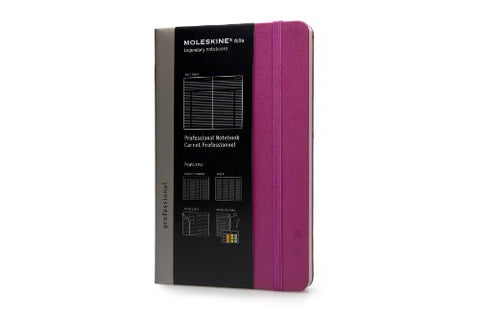 Moleskine Folio Large Professional Notebook - Dark Pink