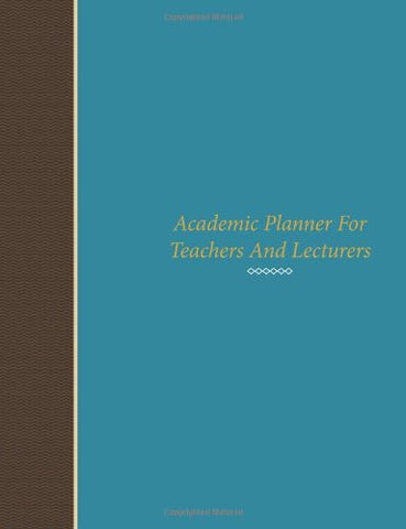 Academic Planner For Teachers And Lecturers