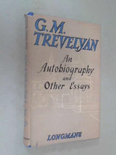 An Autobiography & Other Essays