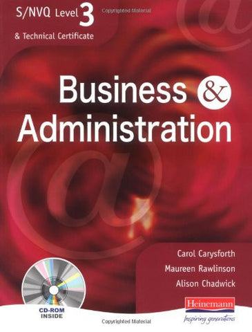 S/NVQ Level 3 Business & Administration: Student Book (S/NVQ Business & Administration)