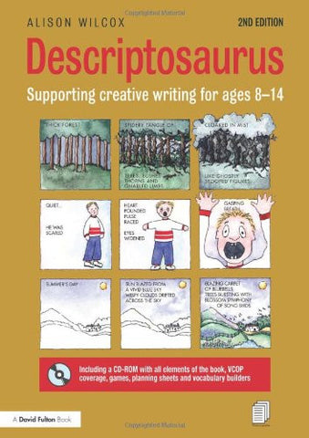Descriptosaurus: Supporting Creative Writing for Ages 8–14