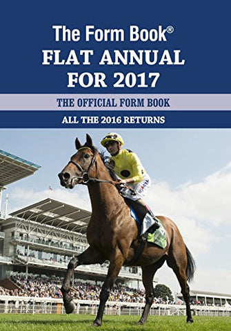 The Form Book Flat Annual For 2017