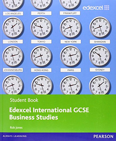 Edexcel International GCSE Business Studies Student Book with ActiveBook CD