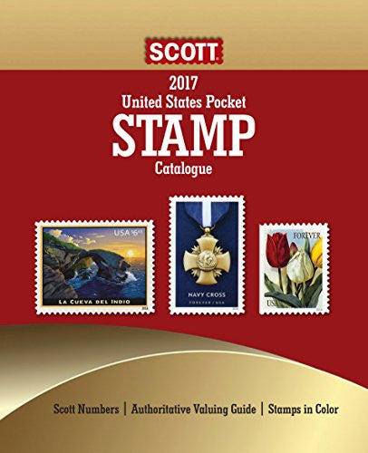 2017 Scott U.S. Stamp Pocket Catalogue: Scott Pocket Catalogue #2017 (RS.) (Scott U.S. Pocket Catalogue)