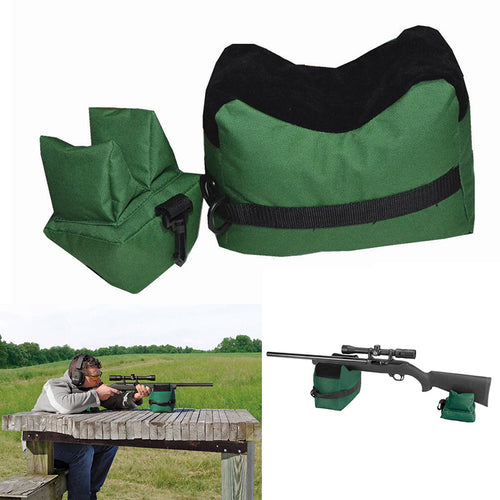 Portable Shooting Rear Gun Rest Bag Set Front & Rear - K13 Products