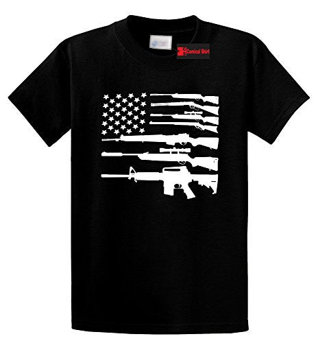 Rifle American Flag T-shirt - K13 Products