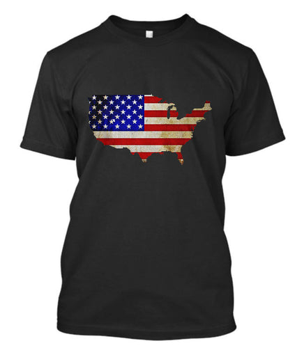 New American Flag T Shirt - K13 Products