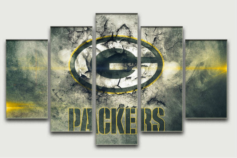 Green Bay Packers Canvas Paintings - K13 Products