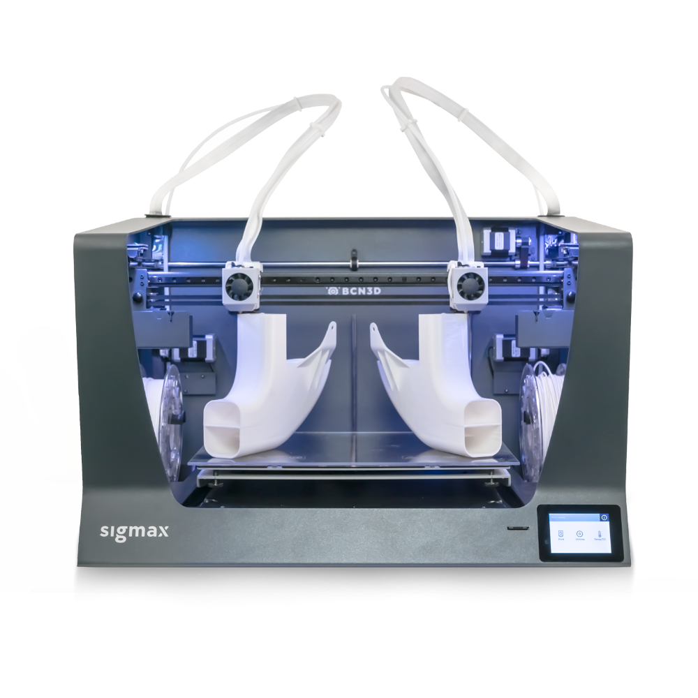 BCN3D SIGMAX Large Independent dual extrusion