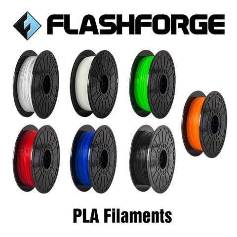 Flashforge PLA filament 0.5kg 1.75mm - Suits the Inventor I & II, the Finder, Dreamer & Adventurer 3