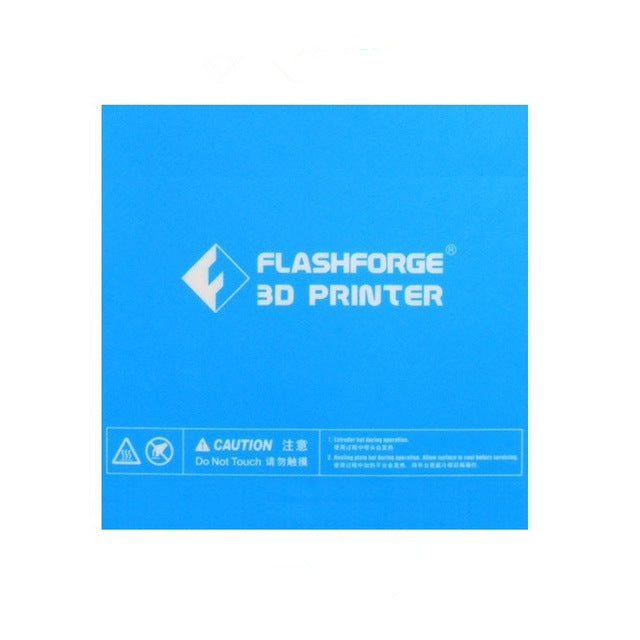 Inventor II build surface - Genuine Flashforge - Can be cut down to fit the Finder