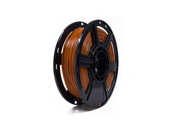 Brown Flashforge PLA 3d printing filament 0.5kg 1.75mm