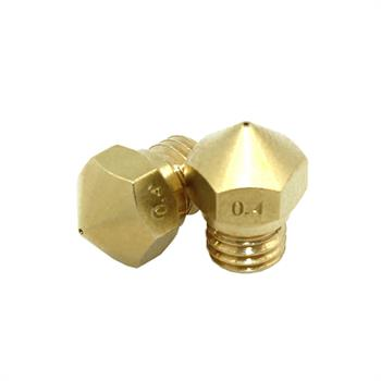 Genuine Flashforge MK10 0.4mm Brass Nozzle - Suits all Flashforge printers. FREE delivery.