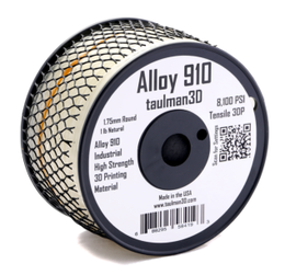 Alloy 910 Nylon - Taulman 3D 1.75mm 450gms