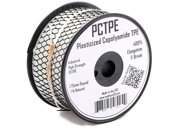 PCTPE - Taulman 3D 1.75mm 450gms or 1Kg