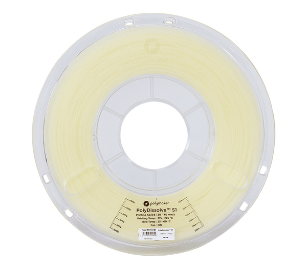 Polymaker PolyDissolve S1 0.75kg 1.75mm soluble 3d printing PVA support filament