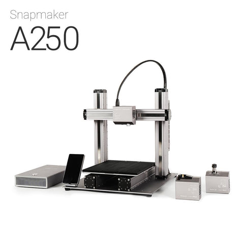 Snapmaker 2.0 A250 3-in-1 3D Printer, CNC Carver, Laser Engraver.
