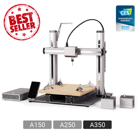 Snapmaker 2.0 A350 3-in-1 3D Printer, CNC Carver, Laser Engraver.