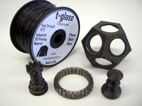 Taulman T Glase Black 1.75mm filament