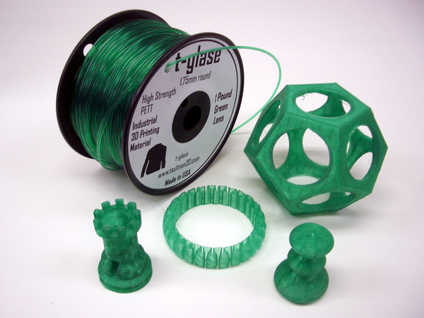Taulman T Glase Green 1.75mm filament
