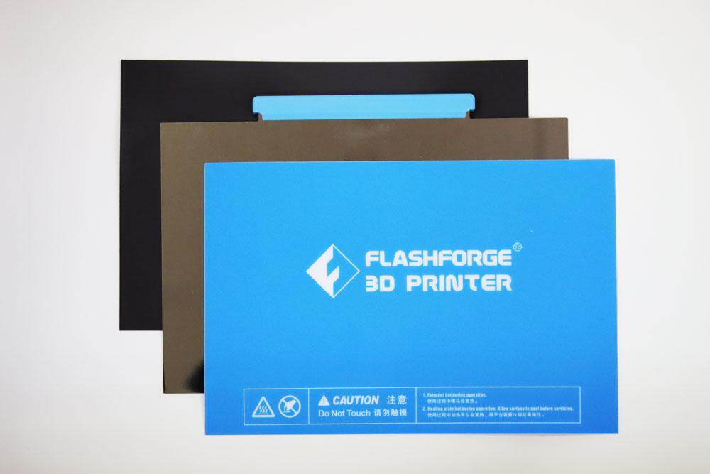 Flashforge Creator Pro 2 & Creator Pro Metal Flex Bed Including Bed Surface & Magnetic Adhesive Sheet