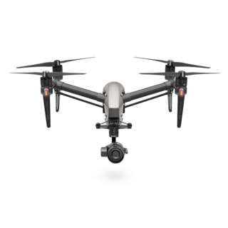 DJI Inspire 2 - With X5S Camera, CinemaDNG and Apple ProRes