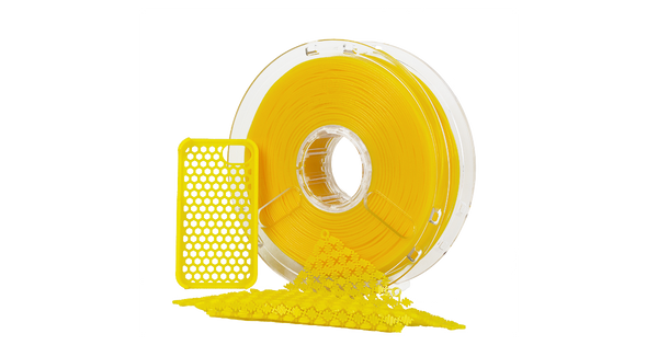 Yellow Polymaker PolyFlex TPU95 0.75kg 1.75mm Filament