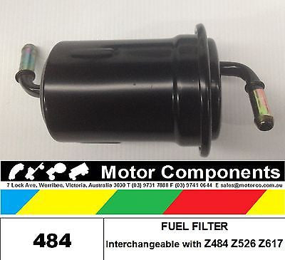 FUEL FILTER COMPATIBLE WITH Z484 Z526 Z617 484