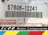 TOYOTA MEMBER SUB-ASSY RR FLOOR CROSS NO2 Corolla SED ZRE152 3/07 on 57606-12241