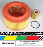 FILTER KIT MAZDA BT50 FORD RANGER PX P4AT 2.2 Litre,Turbo 3.2L P5AT 10/11 on